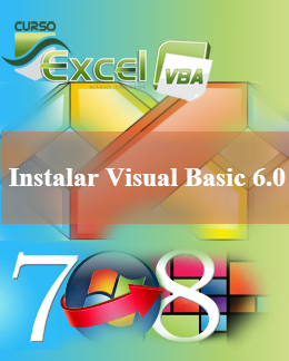 Instalar Visual Basic 6.0 no Windows 7 e 8