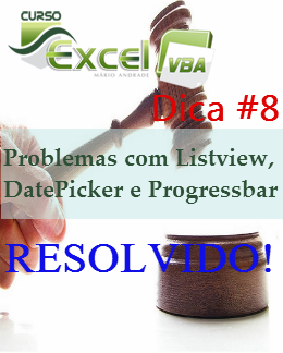 Resolver problemas com Listview, DatePicker e Progressbar